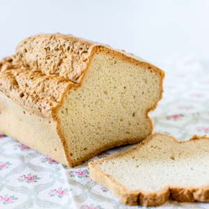 Easy Fluffy Bread from Low-Sugar, So Simple Book