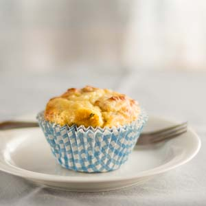 Hearty Breakfast Muffins from Low-Sugar, So Simple Book