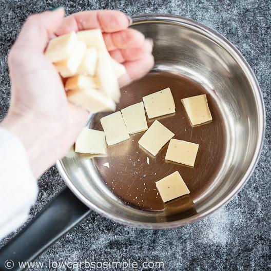 Adding Sugar-Free White Chocolate | Low-Carb, So Simple