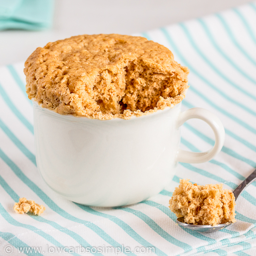 Flourless 4-Ingredient Peanut Butter Cake from Low-Sugar, So Simple Book | Low-Carb, So Simple