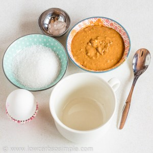 Ingredients for the cake | Low-Carb, So Simple