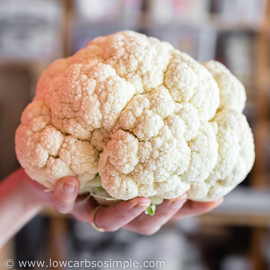 Large Cauliflower Head   Low-Carb, So Simple