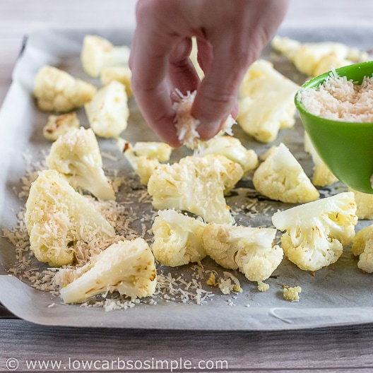Sprinkling Parmesan   Low-Carb, So Simple