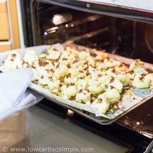 Removing from the Oven   Low-Carb, So Simple
