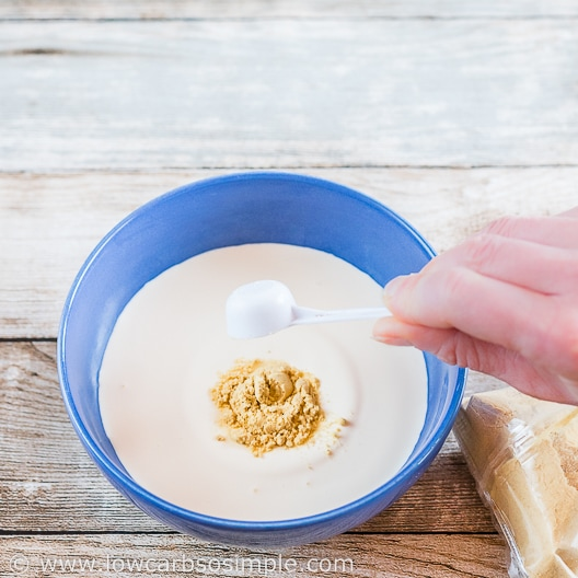 Adding Mustard | Low-Carb, So Simple