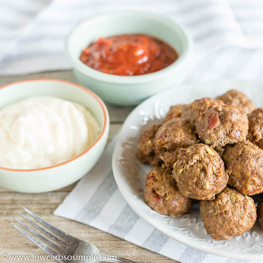 ABC Meatballs | Low-Carb, So Simple