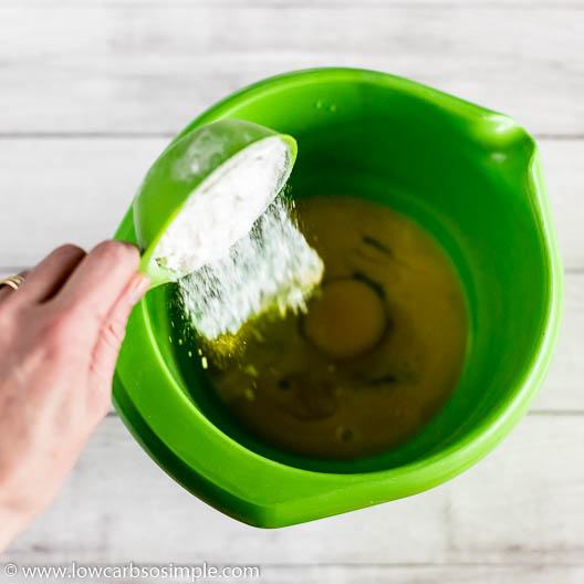 Adding powdered erythritol   Low-Carb, So Simple