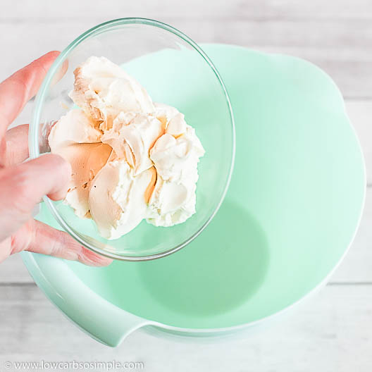 Adding Cream Cheese | Low-Carb, So Simple