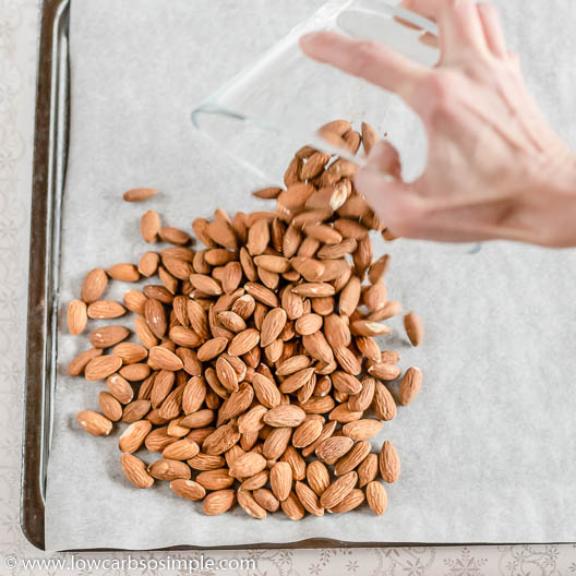 Pouring Almonds   Low-Carb, So Simple