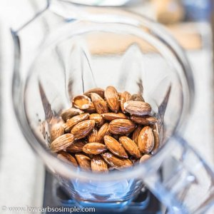 Almonds for Almond Butter | Low-Carb. So Simple
