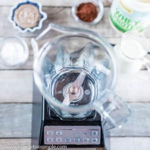 Chocolate Almond Keto Smoothie | Low-Carb, So Simple