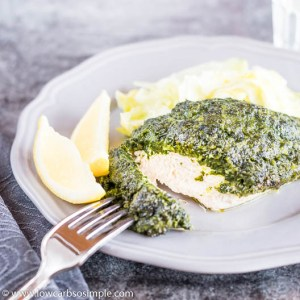 Amazingly Easy Spinach Chicken Parmesan | Low-Carb, So Simple