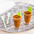 Easy 5-Ingredient Tomato, Zucchini and Basil Soup Shooters | Low-Carb, So Simple