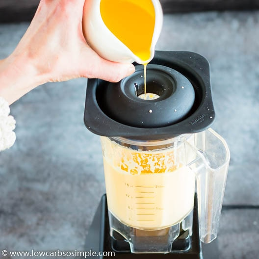 Adding More Melted Butter | Low-Carb, So Simple