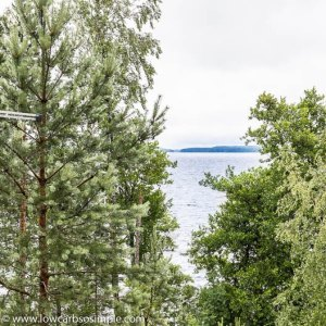 Vuohijärvi Lake after Rain | Low-Carb, So Simple