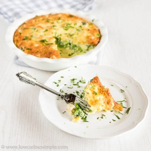 Crustless Chicken Broccoli Pie | Low-Carb, So Simple