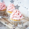 Keto Cranberry Vanilla Buttercream Frosting | Low-Carb, So Simple