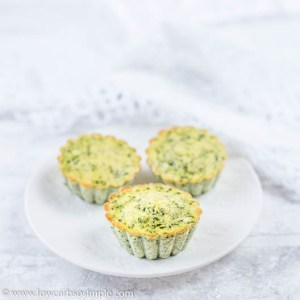 Spinach and Feta Egg Muffins   Low-Carb, So Simple