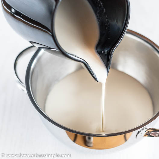 Pouring Cream | Low-Carb, So Simple