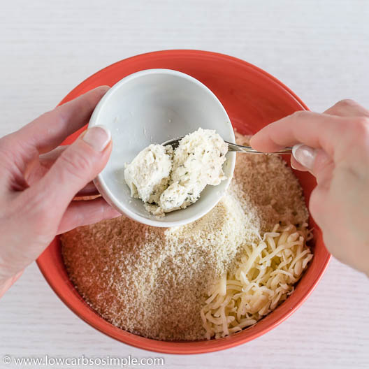 Adding 1 oz Boursin Cheese | Low-Carb, So Simple
