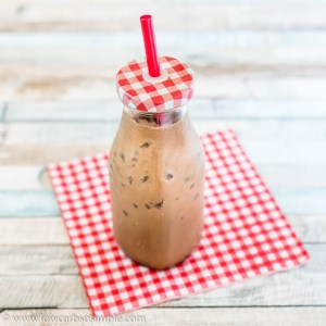 Creamy Keto Iced Power Mocha | Low-Carb, So Simple
