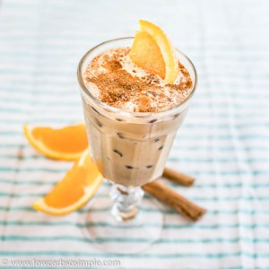 Iced Power Cafe con Naranja | Low-Carb, So Simple