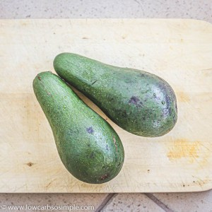 Two Large Avocados | Low-Carb, So SImple