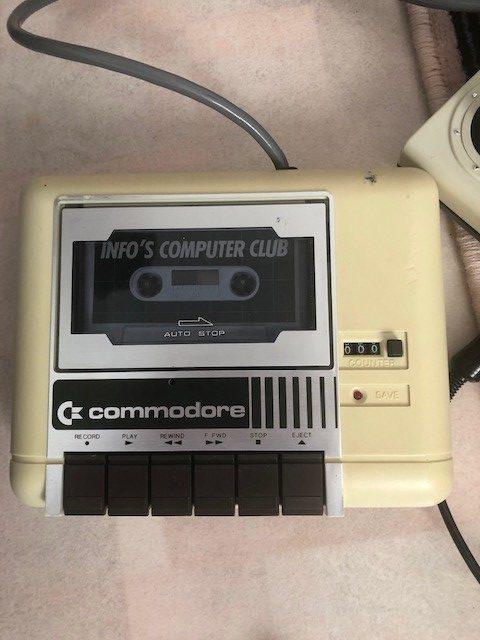 Commodoren kasettiasema