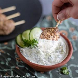 5-Ingredient Keto Raita | Low-Carb, So SImple