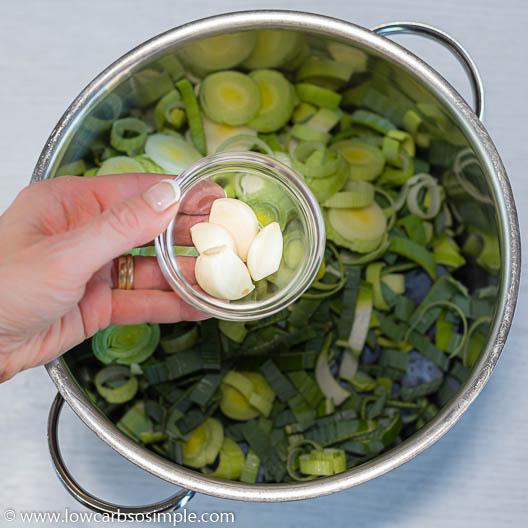 Adding Garlic   Low-Carb, So Simple
