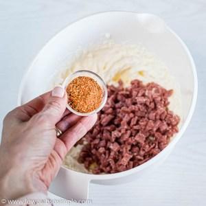 Adding Cajun Seasoning | Low-Carb, So Simple