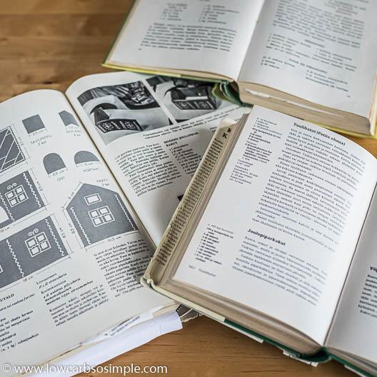 Vanhoja suomalaisia keittokirjoja