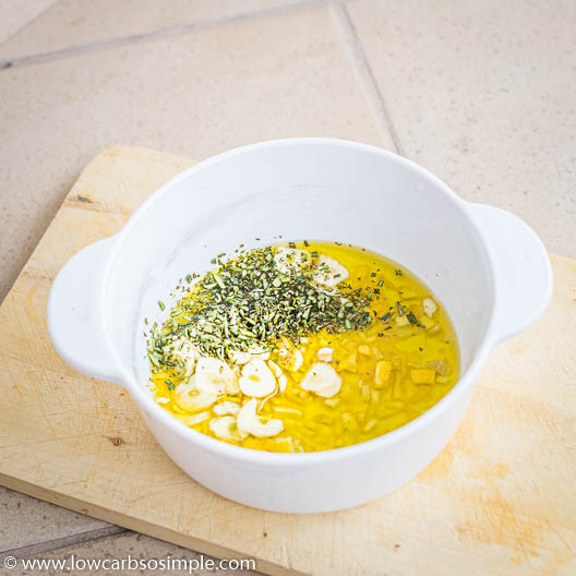 Added Fresh Rosemary   Low-Carb, So Simple