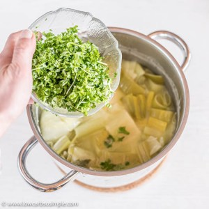 Adding Parsley | Low-Carb, So Simple