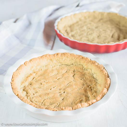 Ready 3-Ingredient Pie Crust | Low-Carb, So Simple