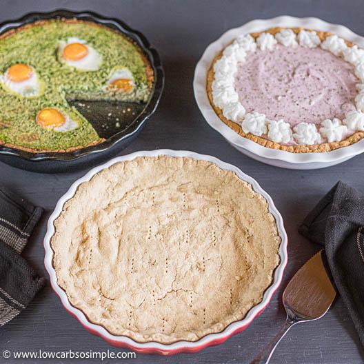 3-Ingredient Pie Crust | Low-Carb, So Simple