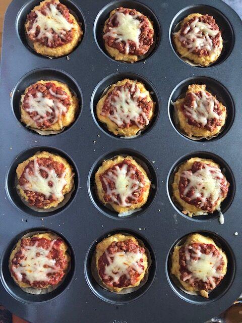 Pizzat leivontamixistä