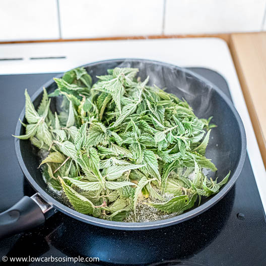 Adding Nettle Leaves   Low-Carb, So Simple