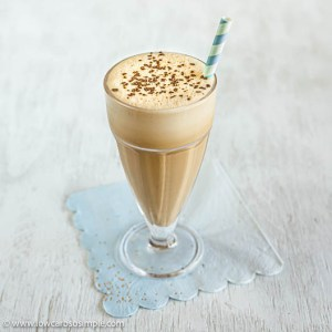 """Iced Dairy-Free Keto """"Butter"""" Latte 