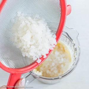 Adding Shirataki Rice   Low-Carb, So Simple