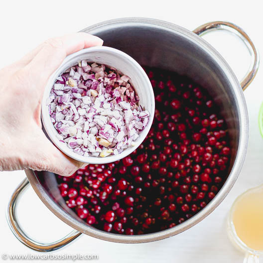 Adding Red Onion   Low-Carb, So Simple