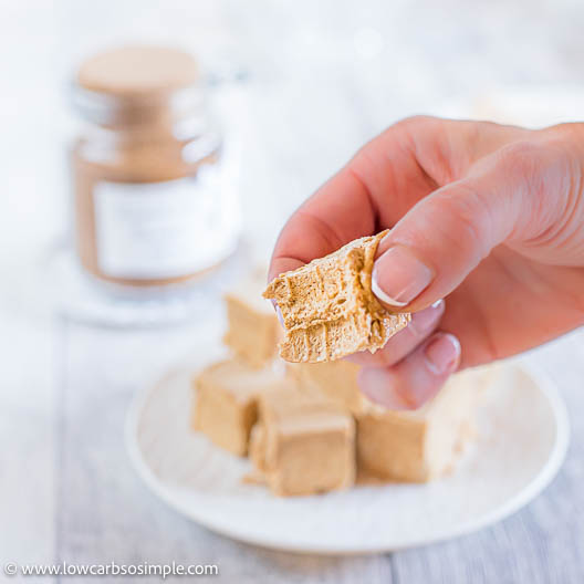 4-Ingredient Keto Peanut Butter Pumpkin Spice Truffles | Low-Carb, So Simple