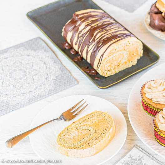 Keto Cake Roll | Low-Carb, So Simple