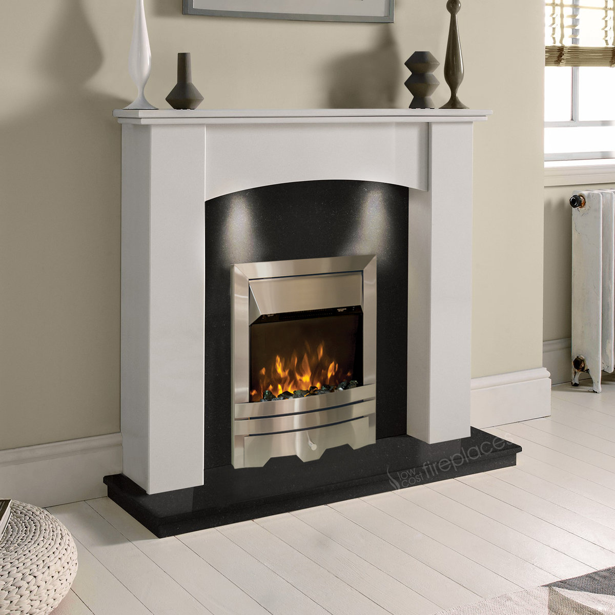 Cost Of Electric Fireplace
