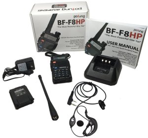 Unboxing the BaoFeng BF-F8HP