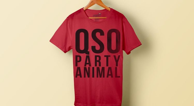QSO Party Animal - QSO parties Ham Radio T-Shirt
