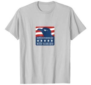 Patriotic Ham Radio T-Shirt
