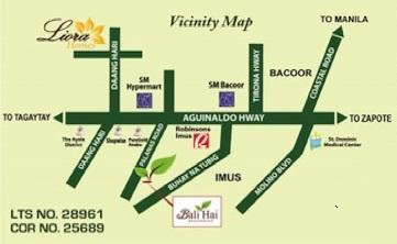 bali hai vicinity map