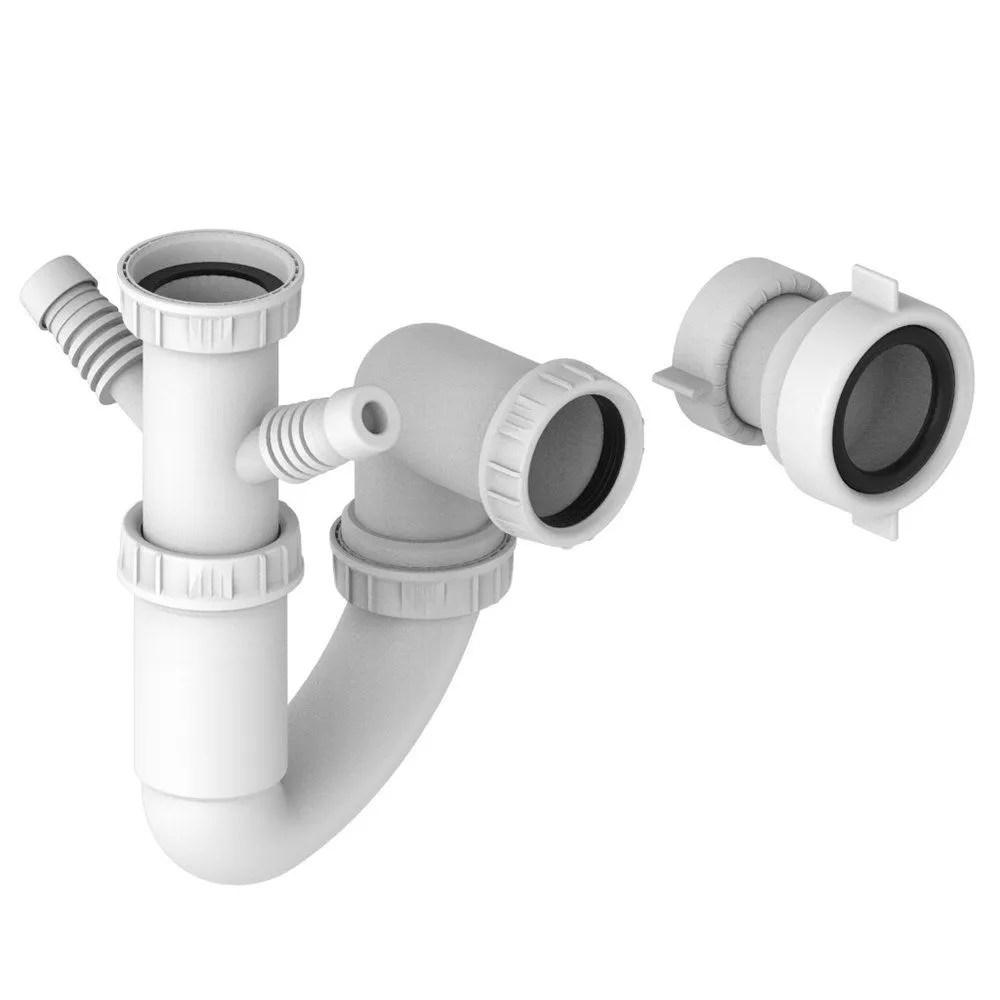 prima single bowl sink plumbing kit