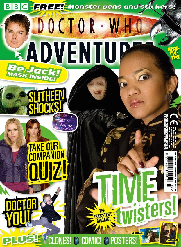 This was, at the time, our lowest-selling issue ever, which I think is a disgrace. Anyone child who didn't want a cover starring the Fortune Teller and the Trickster didn't deserve to have it in the first place. We forgot to put Doctor Who on this one, which was a bit remiss really.